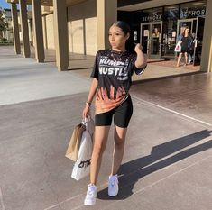 Source by Fashion outfits Cute Swag Outfits, Chill Outfits, Boujee Outfits, Dope Outfits, Teen Fashion Outfits, Retro Outfits, Short Outfits, Teenage Girl Outfits, Girls Summer Outfits