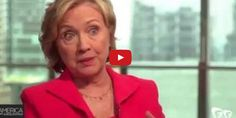 Huh? Hillary Clinton: You Know, Hamas Only Uses Human Shields Because 'Gaza is Pretty Small'