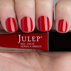 Myrtle - Classic with a Twist - Julep - Flapper red creme
