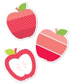 "Bright red Apple 3""..."