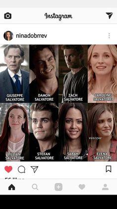The Salvatore family ❤️