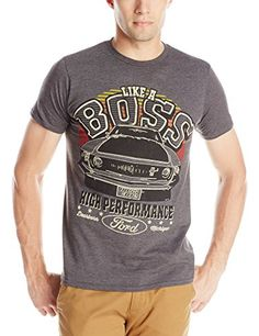 Ford Mens Big Boss, Dark Heather, X-Large