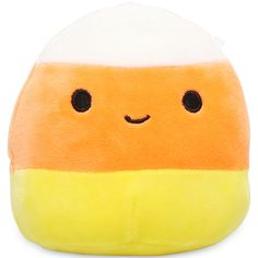 Food Plushies, Cute Squishies, Cute Stuffed Animals, Cute Little Things, Lol Dolls, Character Development, Candy Corn, Household Items, Trick Or Treat