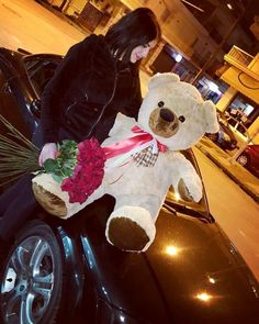 ❤ Love is everywhere ❤ Roses ⚘ Teddy Bear ⚘ Valentine Day ❤ Valentine Gifts, Valentines Day, Teddybear, Happy Wife, Thessaloniki, Flower Art, Red Roses, Greece, Passion