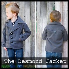 The Desmond Jacket — ShwinDesigns... Obviously I'm going to have to make this for Desi!