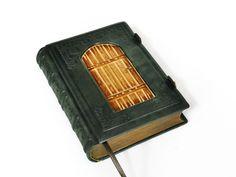 Leather journal secret diary book of secrets secret by dragosh