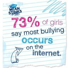 Here's a fact about cyberbullying that needs to end!