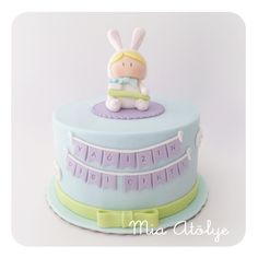First tooth cake - Little rabbit