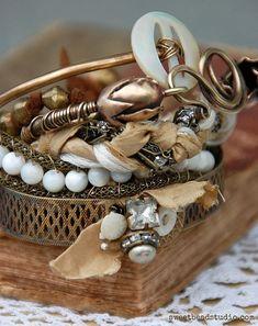 Stacked Bracelets | sweetbeadstudio