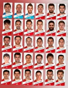 Spain name 30 man provisional World Cup squad. Brazil World Cup, World Cup 2014, Fifa World Cup, Lionel Messi, Soccer Fifa, Football Mexicano, Transfer News, National Football Teams, World Football