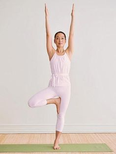 New to yoga? Try these basic yoga poses to get stronger and more flexible.