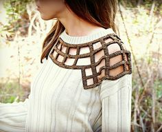 Trash To Couture: DIY Embellished Refashioned Sweater