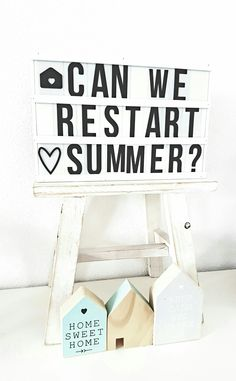 Can we restart summer? Light Up Box, Light Board, Marquee Sign, Marquee Lights, Light Box Quotes Funny, Mini Lightbox, Sign Quotes, Funny Quotes, Cinema Sign