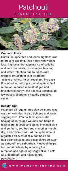 Patchouli Essential Oil Guide & Application #essentialoils #diybeauty #PatchouliEssentialOil #PatchouliEssentialOilbenefits