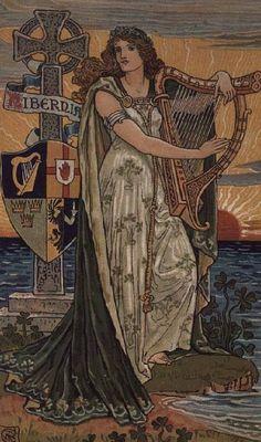 "Walter Crane ""United Ireland, Calendar for 1897"