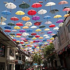 Umbrella Sky, Antalya Turkey