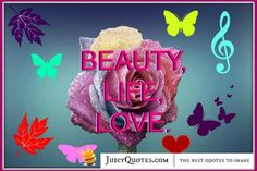 Quote About Beauty - Unknown
