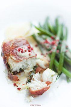 Filety z dorsza w pesto i szynce parmeńskiej | Kwestia Smaku