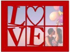 Love fotolijst voor valentijn. Mogelijk met de namen door Kadranja