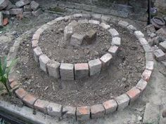 DIY Mini Spiral Garden DIY Mini Spiral Garden