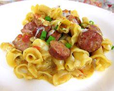 Spicy Sausage Skillet | Plain Chicken