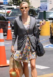 Reese Witherspoon - Dress layer with Cardigan