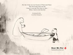 Panda and Polar Bear » Bear Me Far
