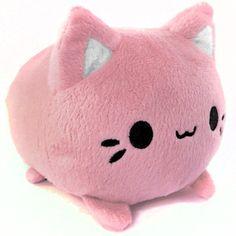 Strawberry Meowchi Mochi Kitten Plush #kawaii