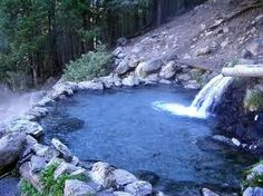 Jemez hot springs in the Jemez mountains of New Mexico.  Favorite place to hike and hang out w/ friends.  (Clothing optional)