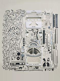 Some Disassembly Required: Exquisite Teardowns of Everyday Machines, by Todd McLellan, a Toronto photographer