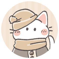 ảnh Vui động Vật おしゃれまとめの人気アイデア Pinterest Nhung Nguyễm 2021 白猫 イラスト アイコン 可愛い