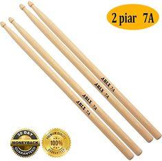 Drum Stick Drum Sticks Non-slip Durable Exercise Musical Instrument Accessories for Jazz Acoustic Music Lover