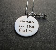 Life isn't about waiting for the storm to pass but about learning how to dance in the rain.
