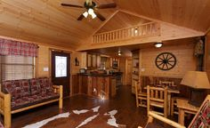 Its spacious floor plans with two bedrooms and a one or two baths can accommodate your whole family. The full kitchen makes home cooking and family dinners enjoyable. So sit back, relax and enjoy your family in one of our Homestead Log Cabin. Ulrich Cabins, Log Cabin Homes, Log Cabins, Barn Builders, Mobile Home Makeovers, Homestead House, Cottage Style Homes, Tiny Living, Home Staging
