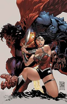 Superman/Wonder Woman #8 by TONY S. DANIEL and BATT