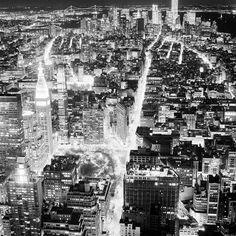 "Original art for sale at UGallery.com | View of Lower Manhattan by Adam Garelick | $275 | photography | 20"" h x 20"" w | http://www.ugallery.com/photography-view-of-lower-manhattan"