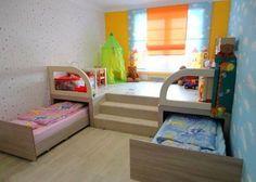 Практичная детская комната.