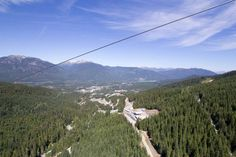 You can see all the way to Green Lake from up here! #Whistler #Ziptrek #adventure #zipline #travel