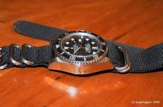 Deepsea on Nato or Zulu strap pics. - Rolex Forums - Rolex Watch Forum