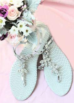 """Wedding Flats Silver (Style """"Gigi"""" 800-69)"""