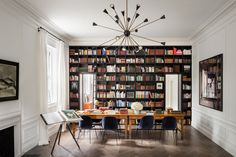 Eclectic Library by Steven Harris Architects