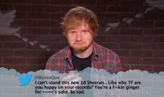Watch Drake, Ed Sheeran, Mumford & Sons read mean tweets about themselves on 'Kimmel'