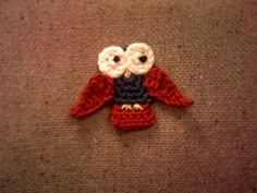 Ravelry: Simple Owl Appliqué pattern by Heather Lane