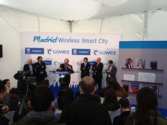 El presidente de la Asociación de Usuarios de Internet (AUI), también participó en la rueda de prensa celebrada para presentar Madrid Wireless Smart City.