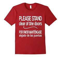 Disney Monorail instructions  - English and Spanish!!  Mens Please Stand Clear of the Doors Funny T-Shirt 2XL Cr... https://www.amazon.com/dp/B072PVCNYB/ref=cm_sw_r_pi_awdb_x_00XjzbMNDDXVZ
