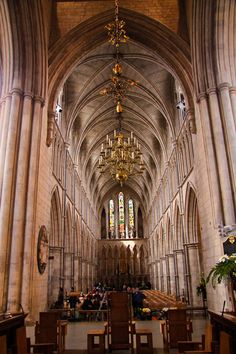 Southwark cathedral. London, England