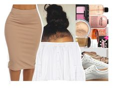 """""""Pencil skirt """" by oh-thatasia ❤ liked on Polyvore featuring Puma and Carolina Herrera"""