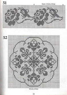 crochet book - 101 Filet Crochet Charts - Raissa Tavares - Álbumes web de Picasa