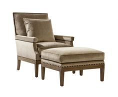 Viceroy Chair and Ottoman from Collection Ten by @ebanistacollect. Discover more at www.ebanista.com