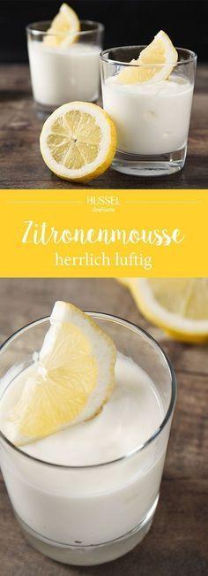 Ein tolles Rezept für eine luftige Zitronenmousse. Die Mousse ist perfekt für warme Sommertage, aber auch als Nachspeise zu fast jedem herzhaften Gericht.